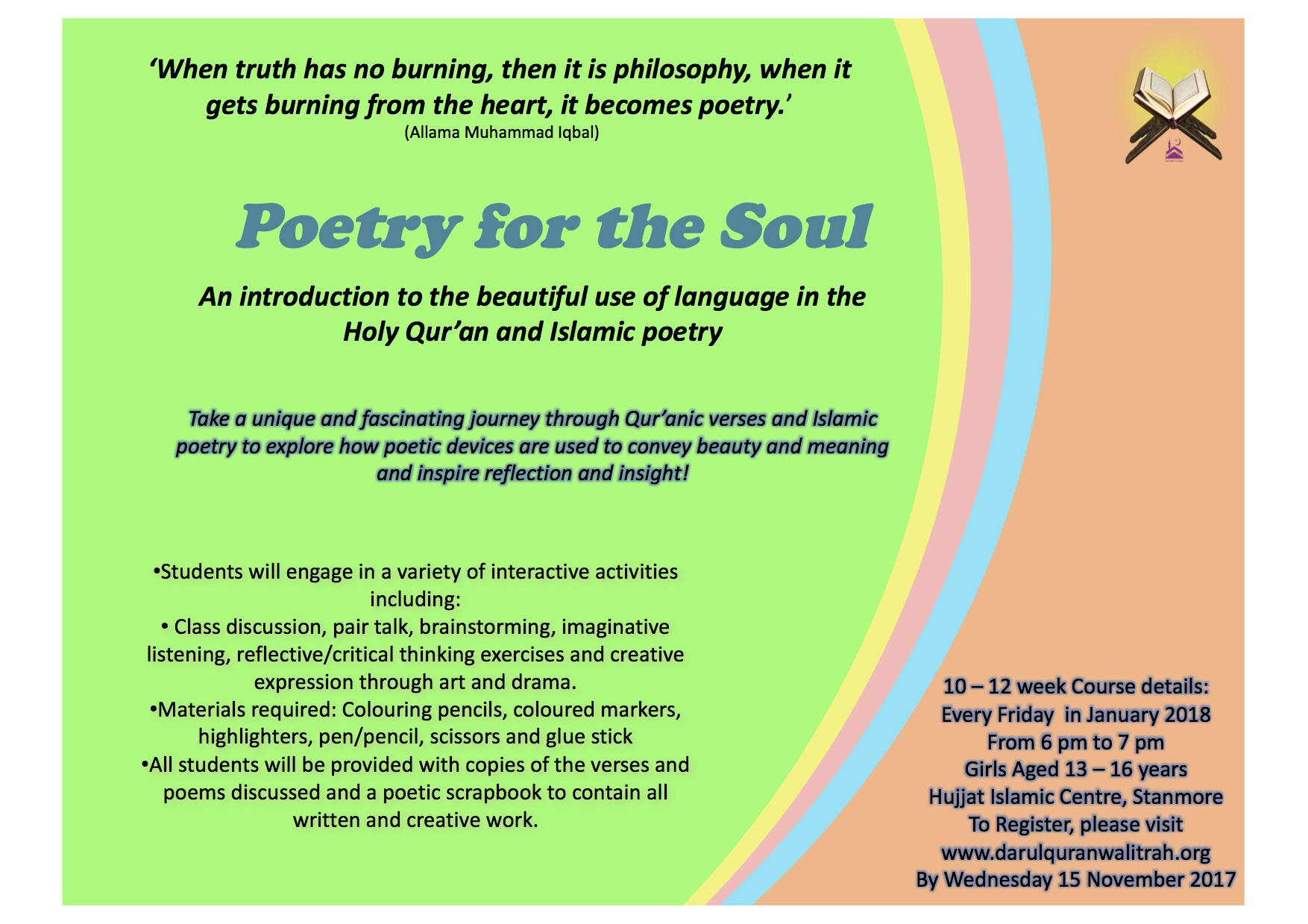 DQ Poetry Course - 2