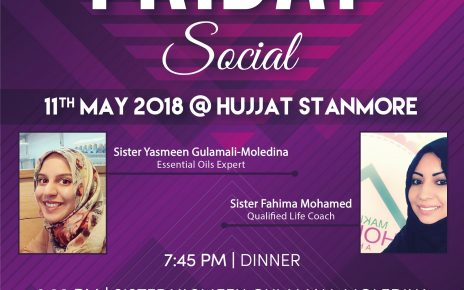 Friday Social Poster ladiesw